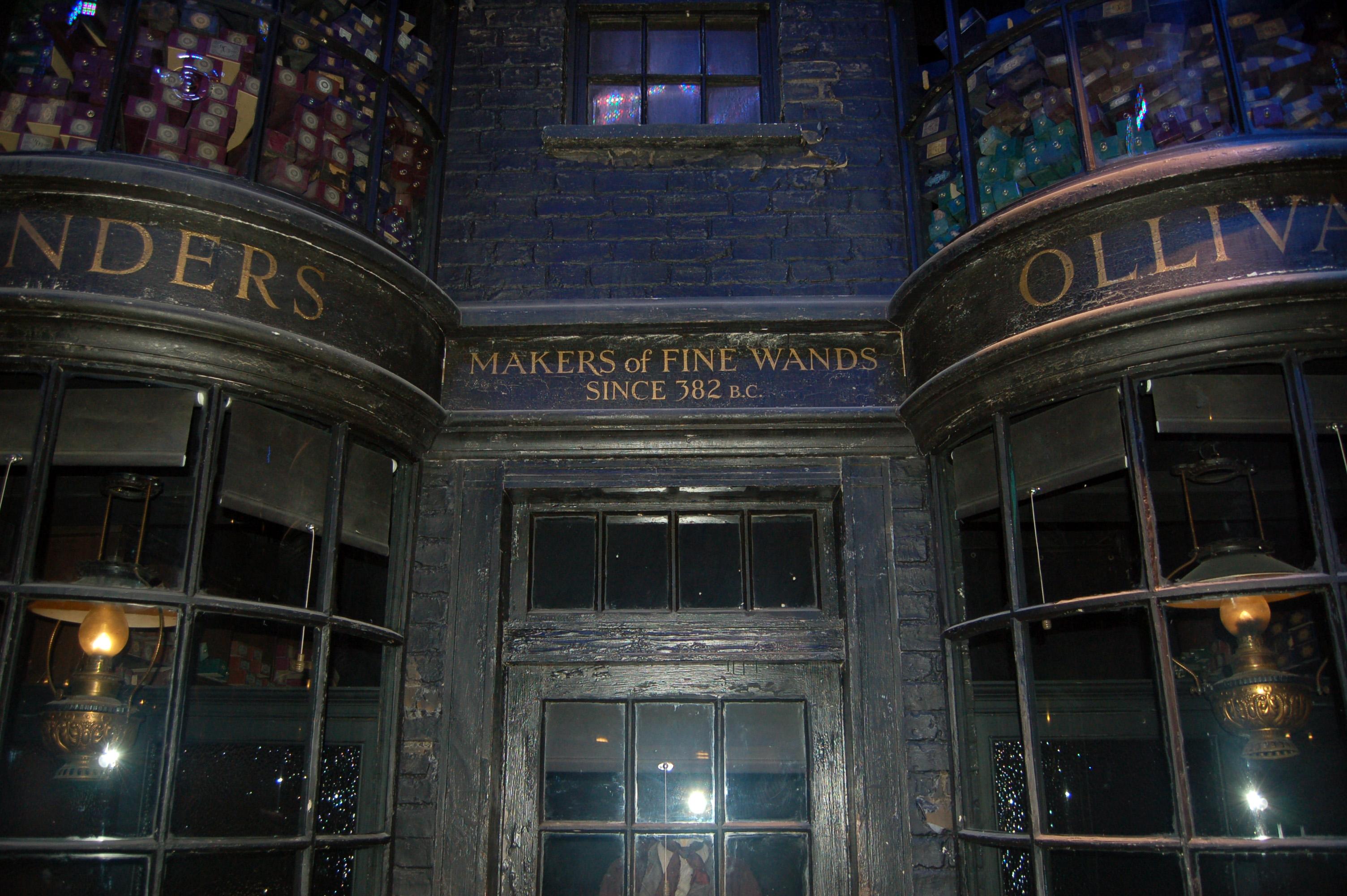 Ollivanders wand shop online