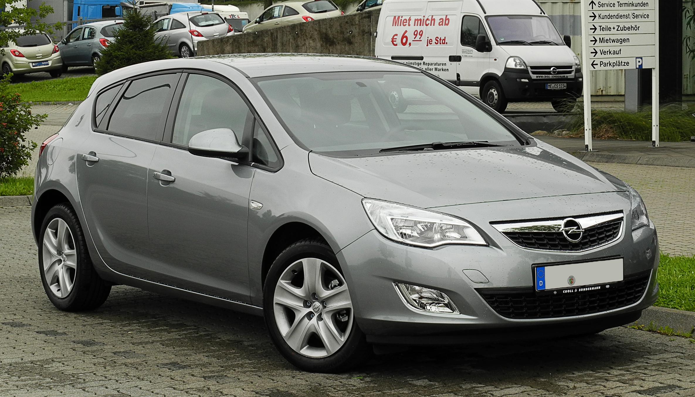 Opel astra 17 d historia