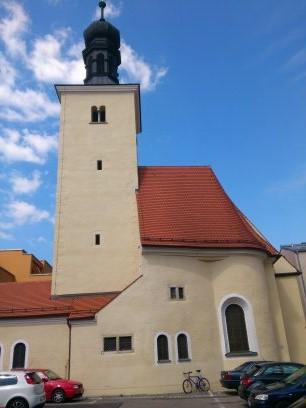 St Leonhard Regensburg