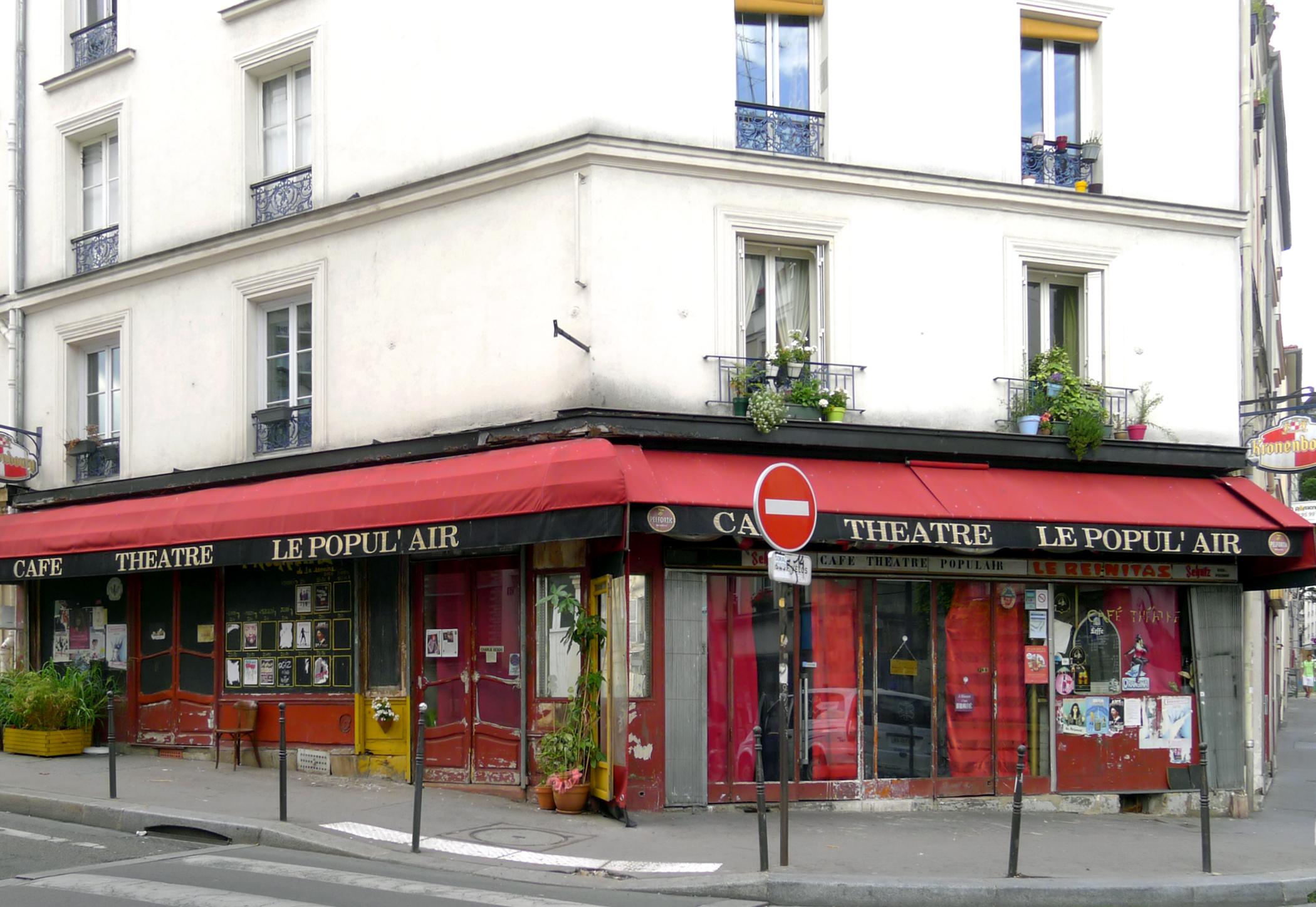 Cafe Theatre Rue De Clavel