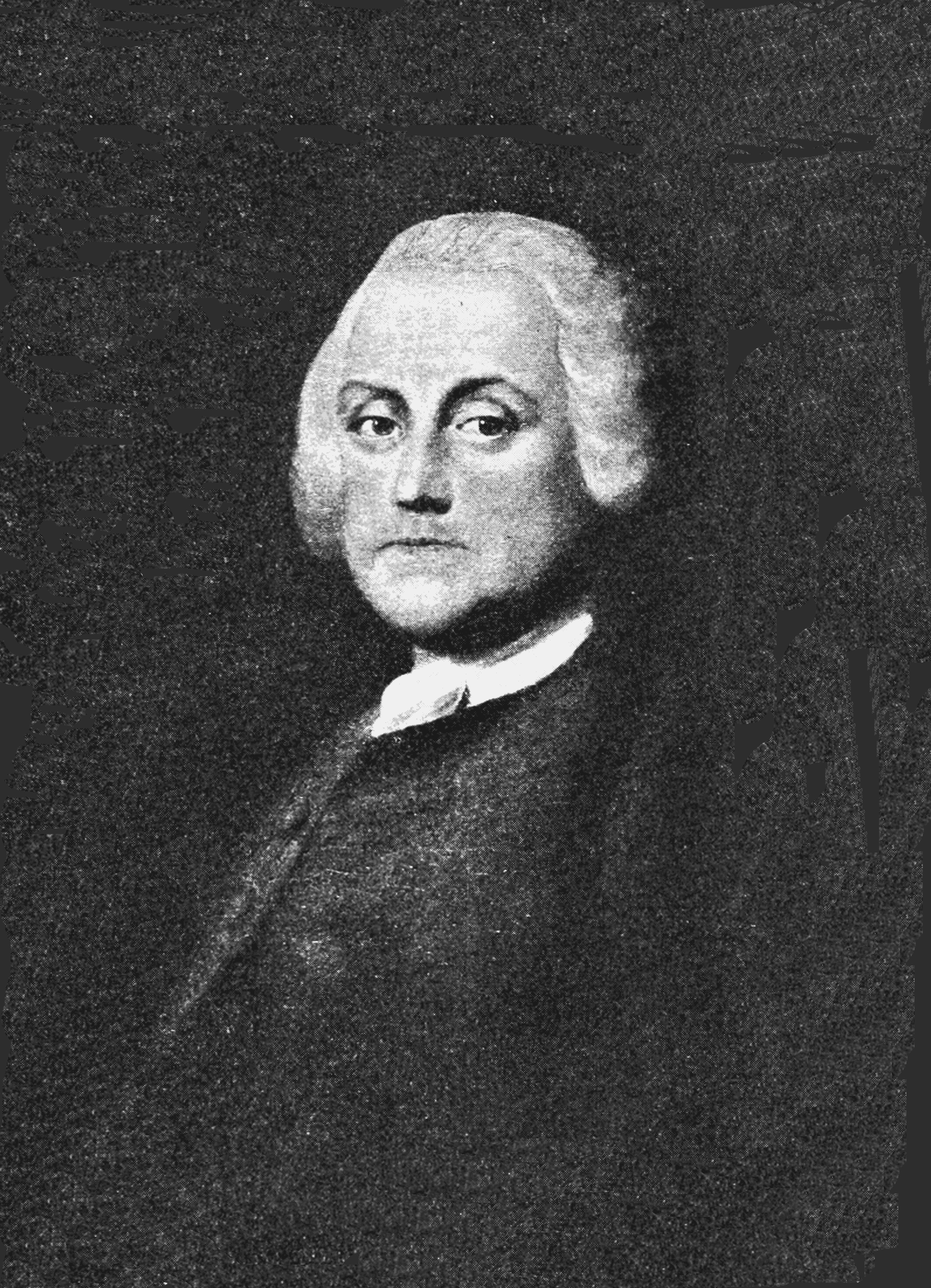 PSM V71 D099 Portrait of franklin painted by benjamin wilson in 1759.png