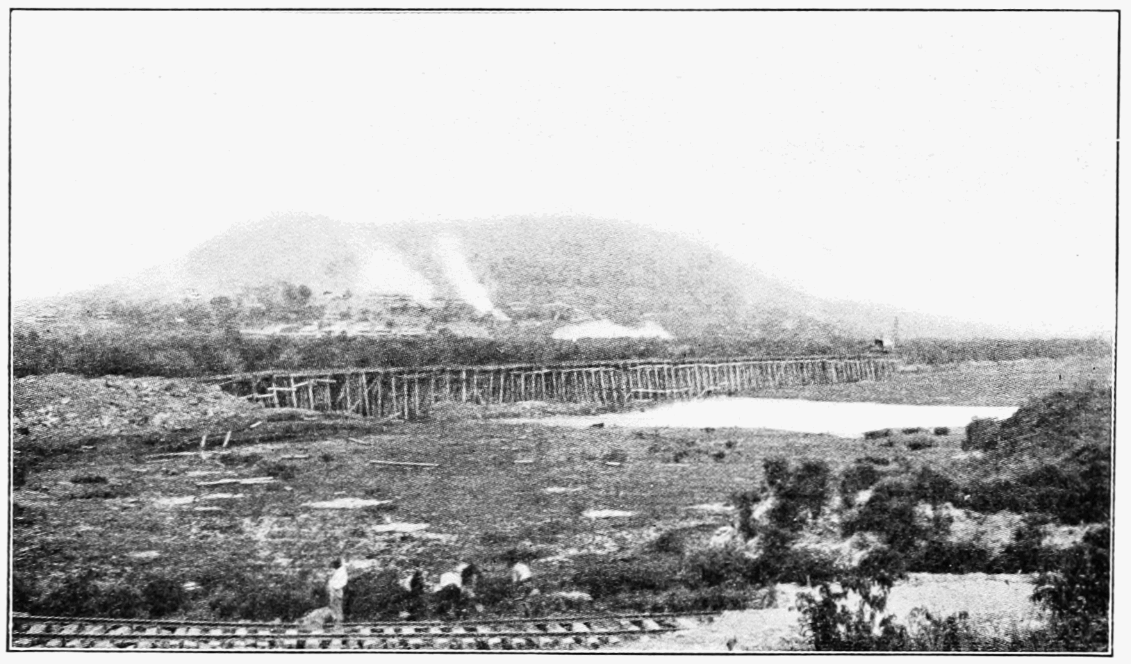 PSM V74 D432 Trestle dump outside of the sosa corozal dam.png