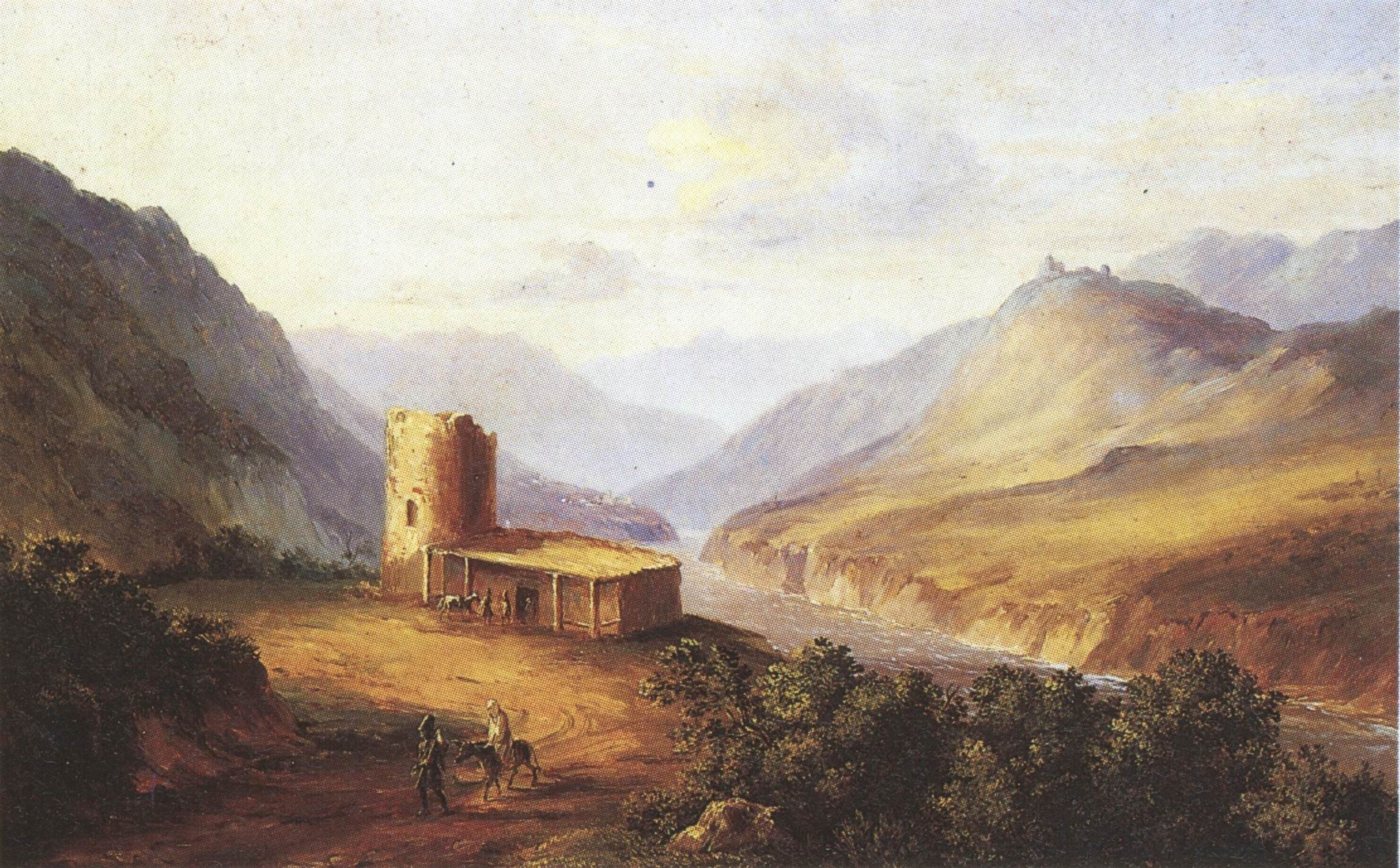 Paintings by Mikhail Lermontov, 1837.jpg