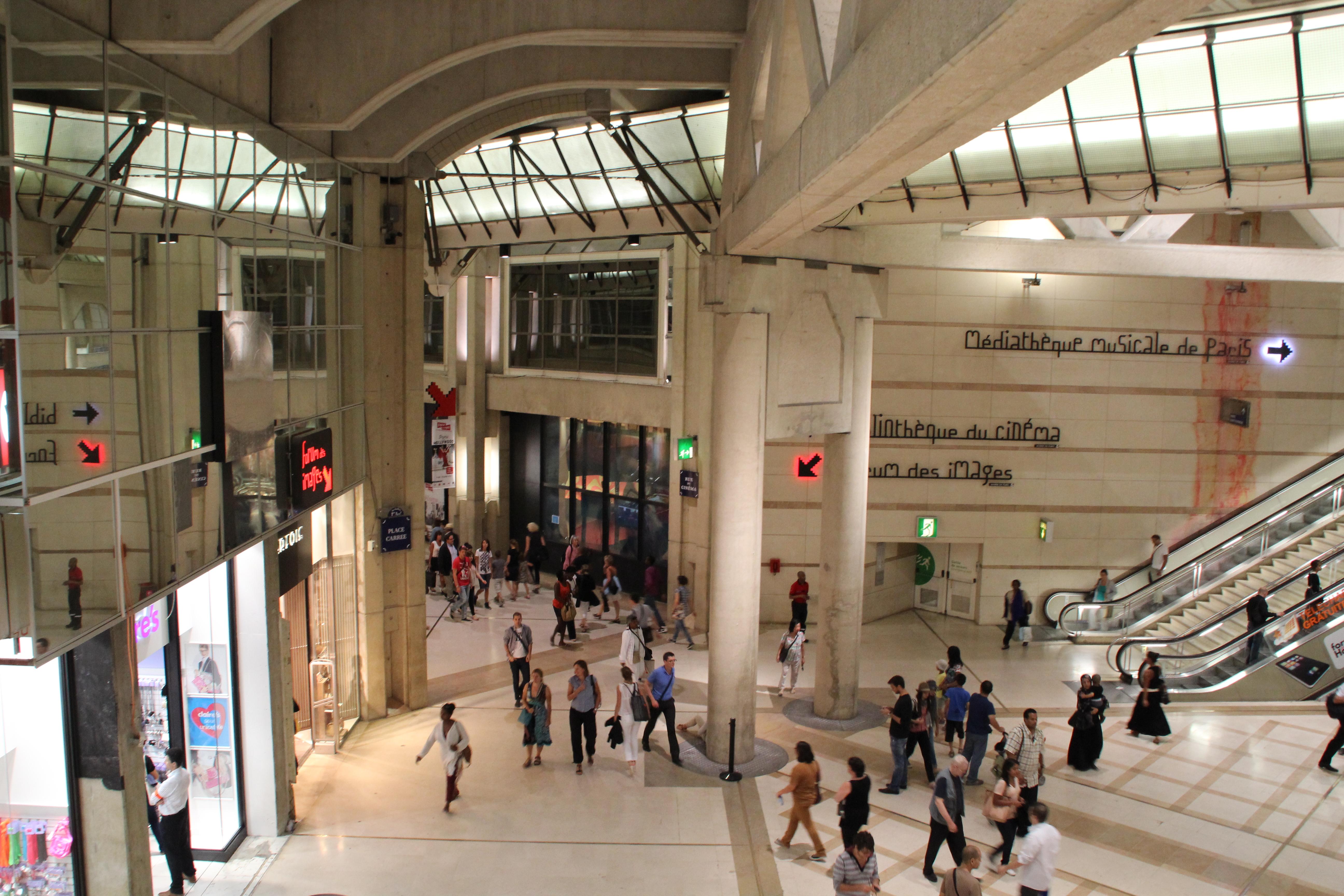 File paris forum des halles 2012 wikimedia commons - Les halles paris magasins ...