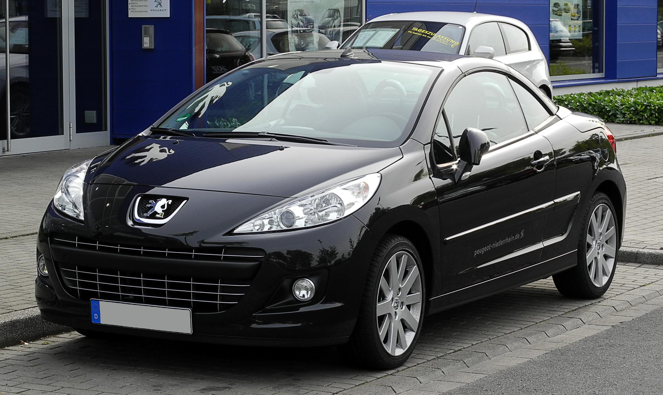 File Peugeot 207 Cc Facelift Frontansicht 12 Juni