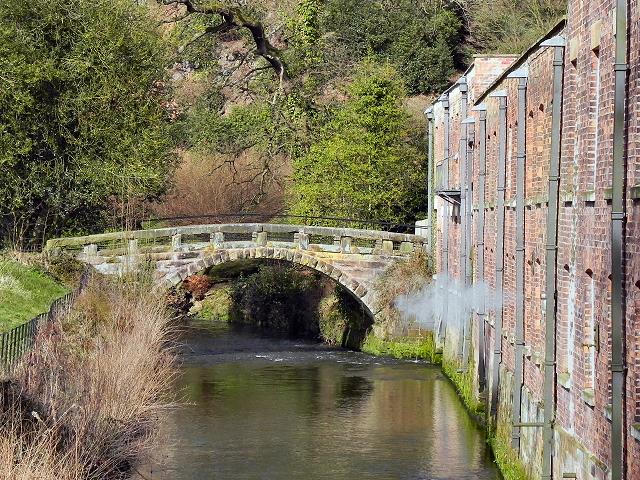 Quarry Bank Mill Footbridge