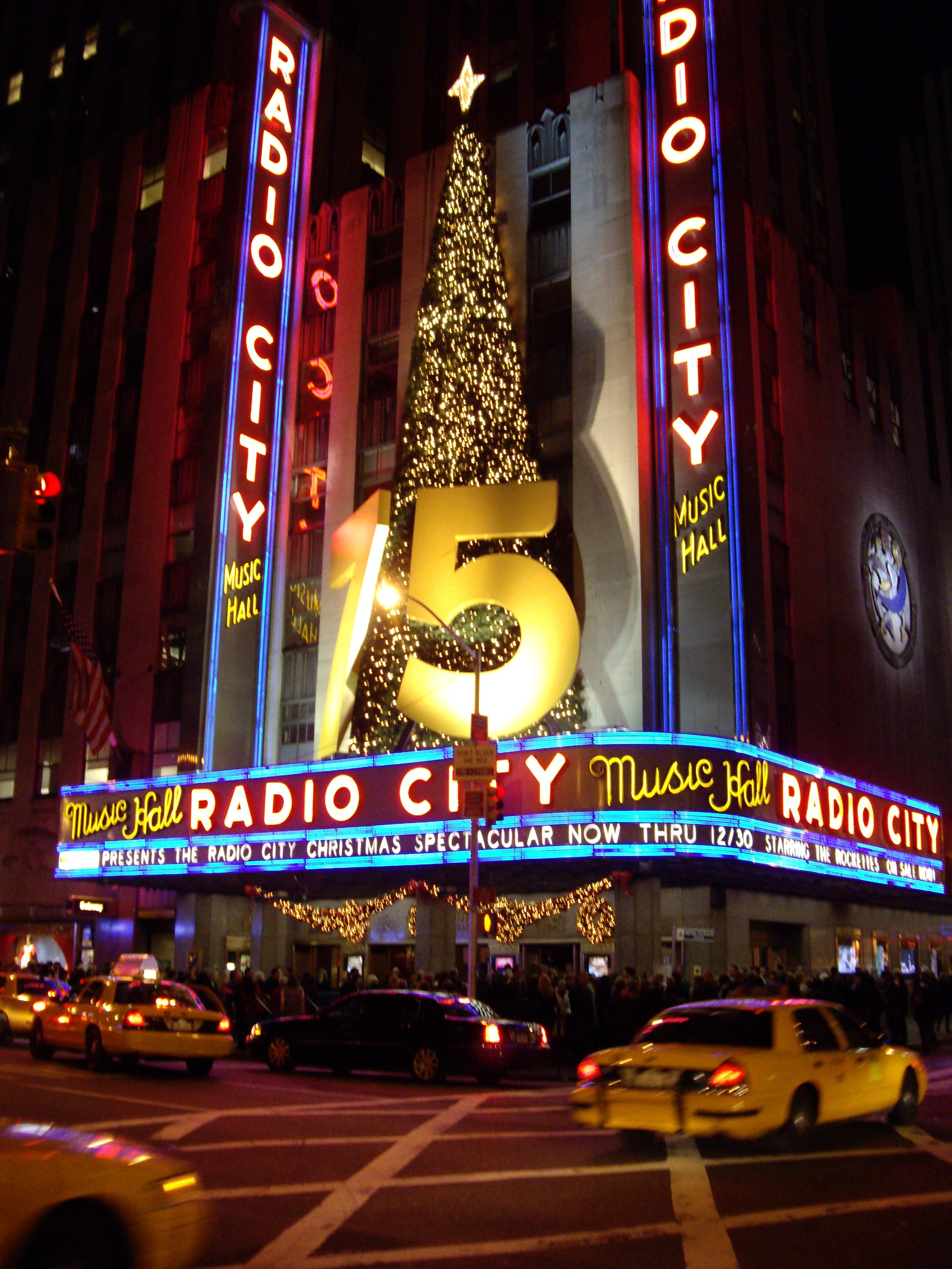 Description radio city music hall