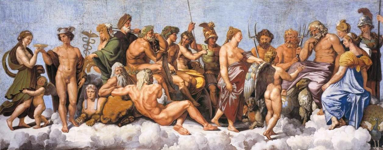 Что подарила афина жителям аттики
