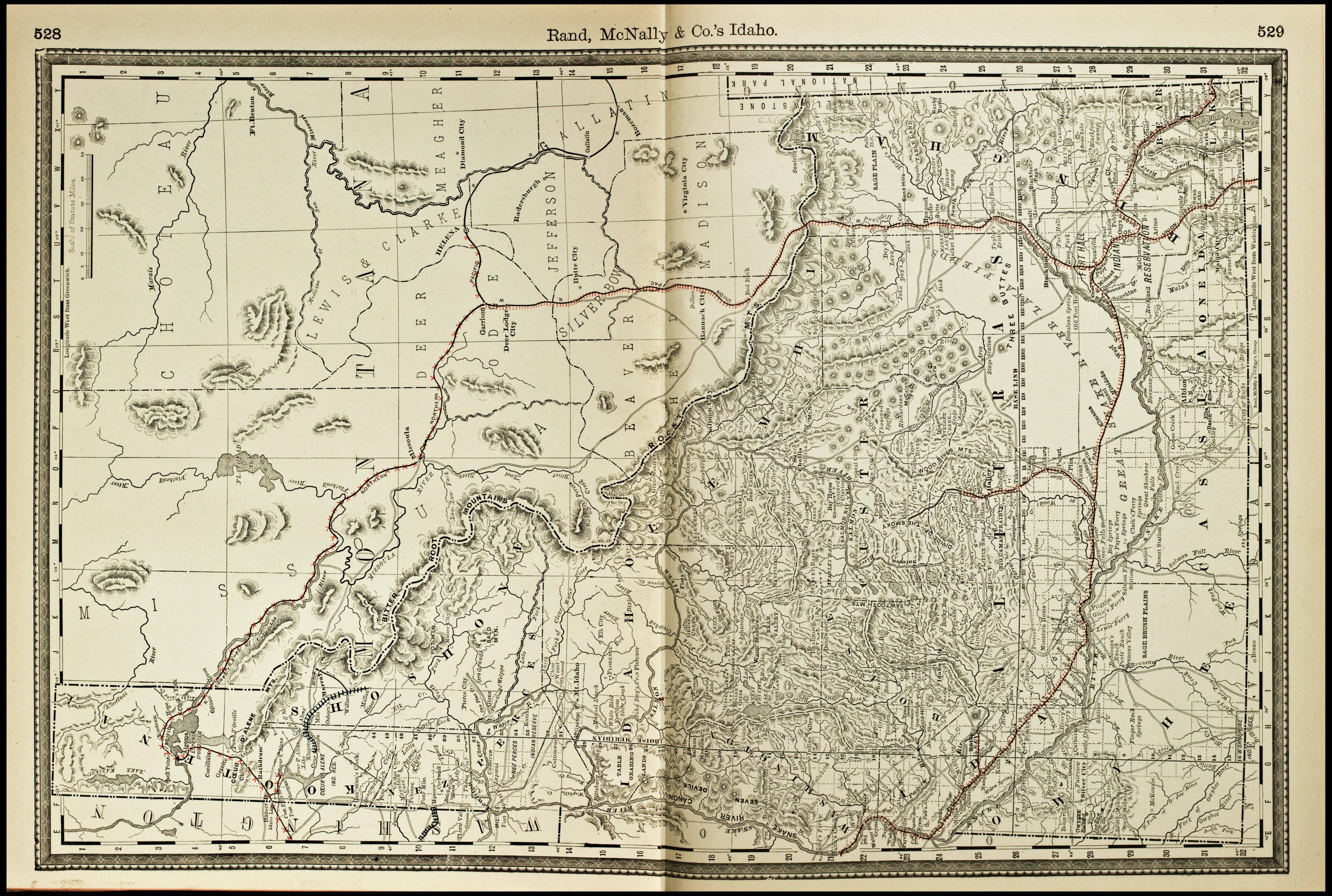 File:Rand, McNally & Co.'s map of Idaho (NBY 15524).jpg - Wikimedia on maine's map, california's map, idaho welfare map, oklahoma's map, idaho bureau of land management map, washington's map, saw hills of idaho map, idaho hunters map, idaho campgrounds map, oregon map, idaho farmland map, idaho county map, north idaho map,
