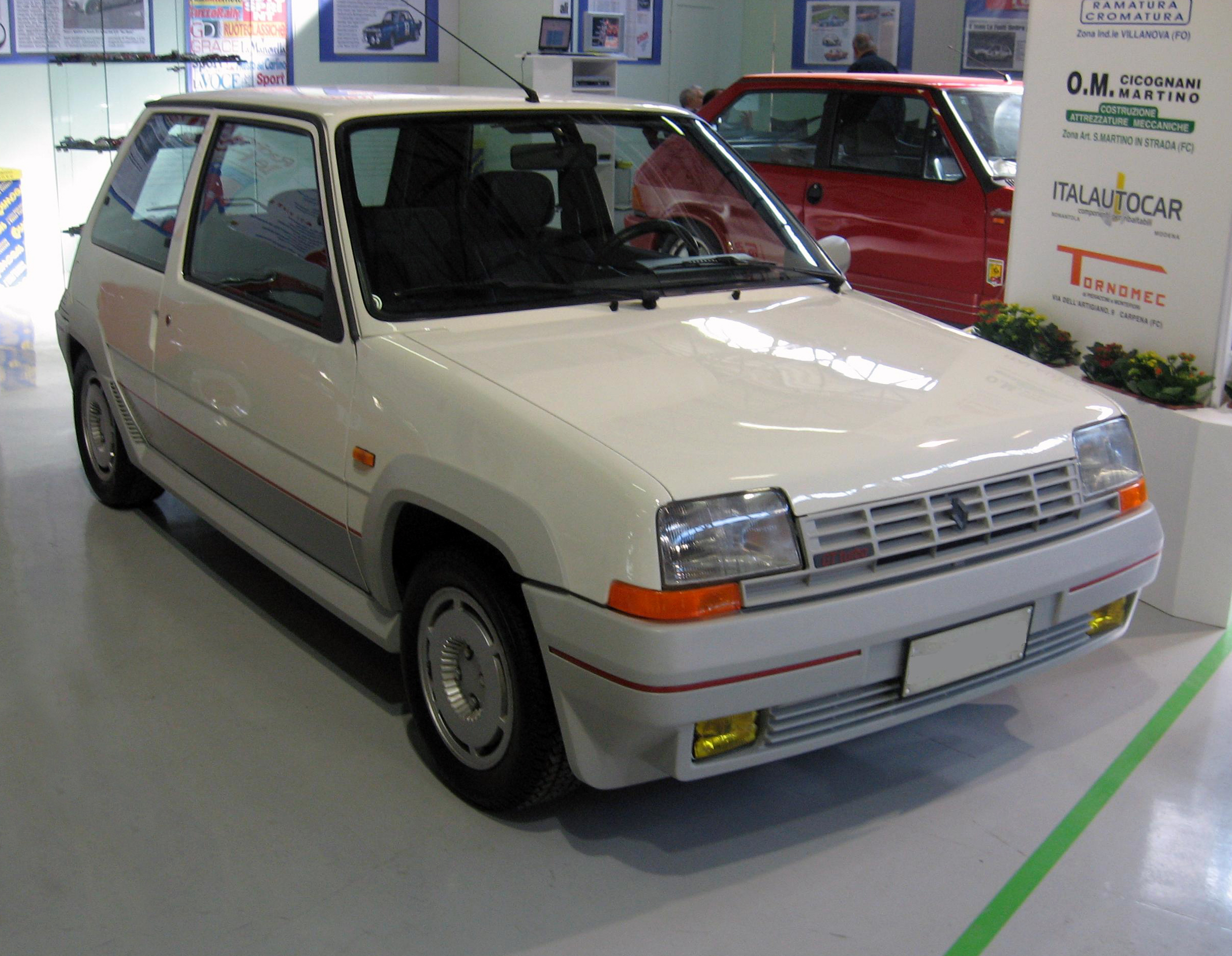 renault super 5 gt turbo wikiwand