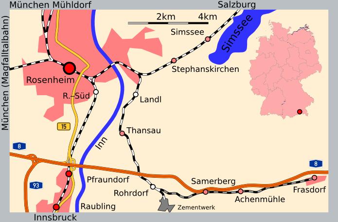 Bahnstrecke Landl Oberbay Abzwfrasdorf Wikipedia