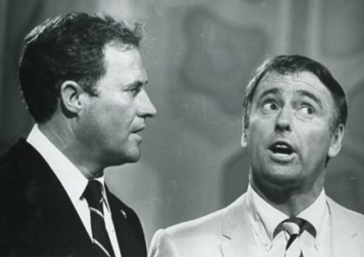 Dan Rowan (left) and Dick Martin (right), 1968 - Rowan & Martin's Laugh-In