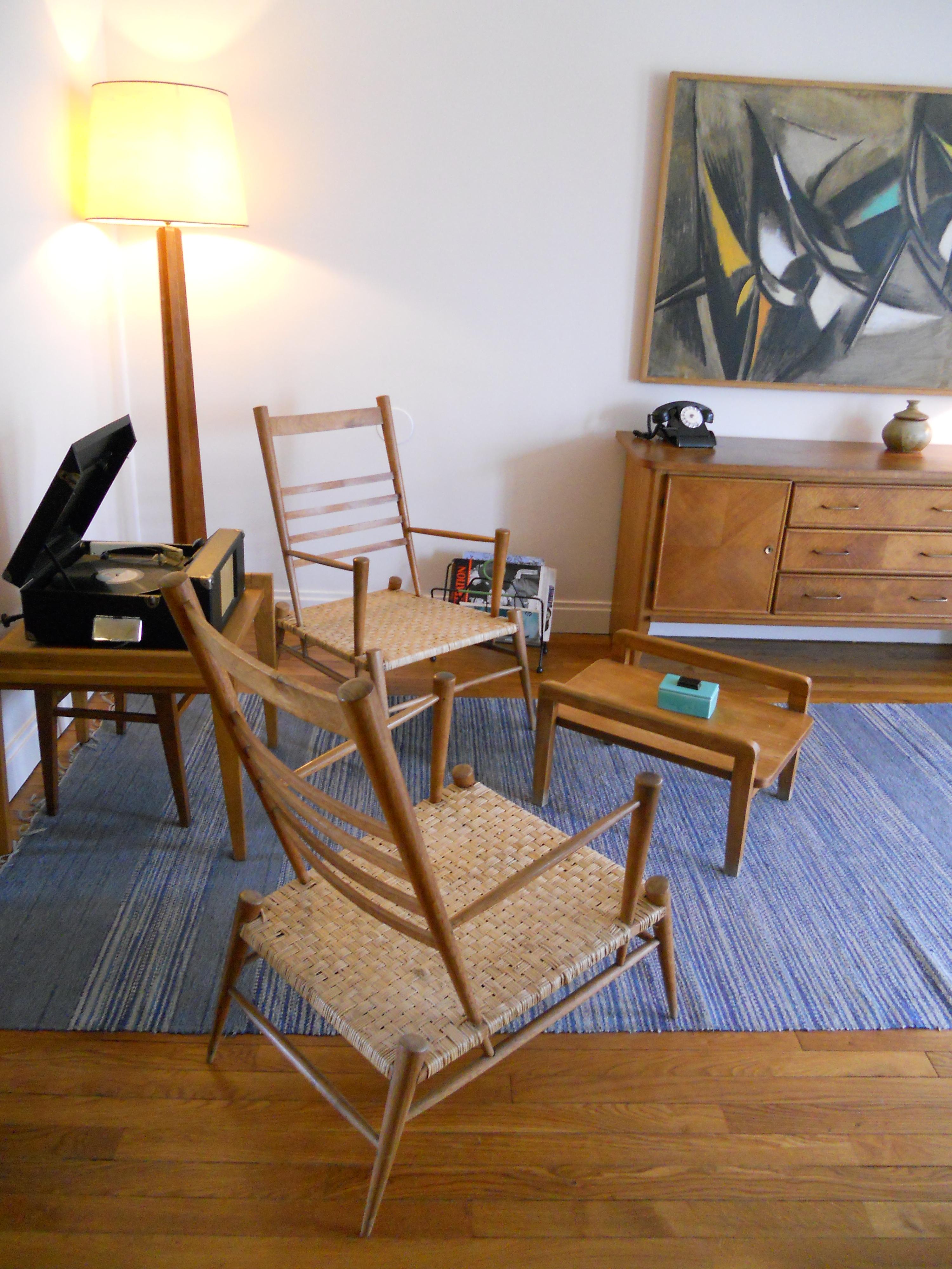 file salle de s jour de l 39 appartement t moin perret au. Black Bedroom Furniture Sets. Home Design Ideas