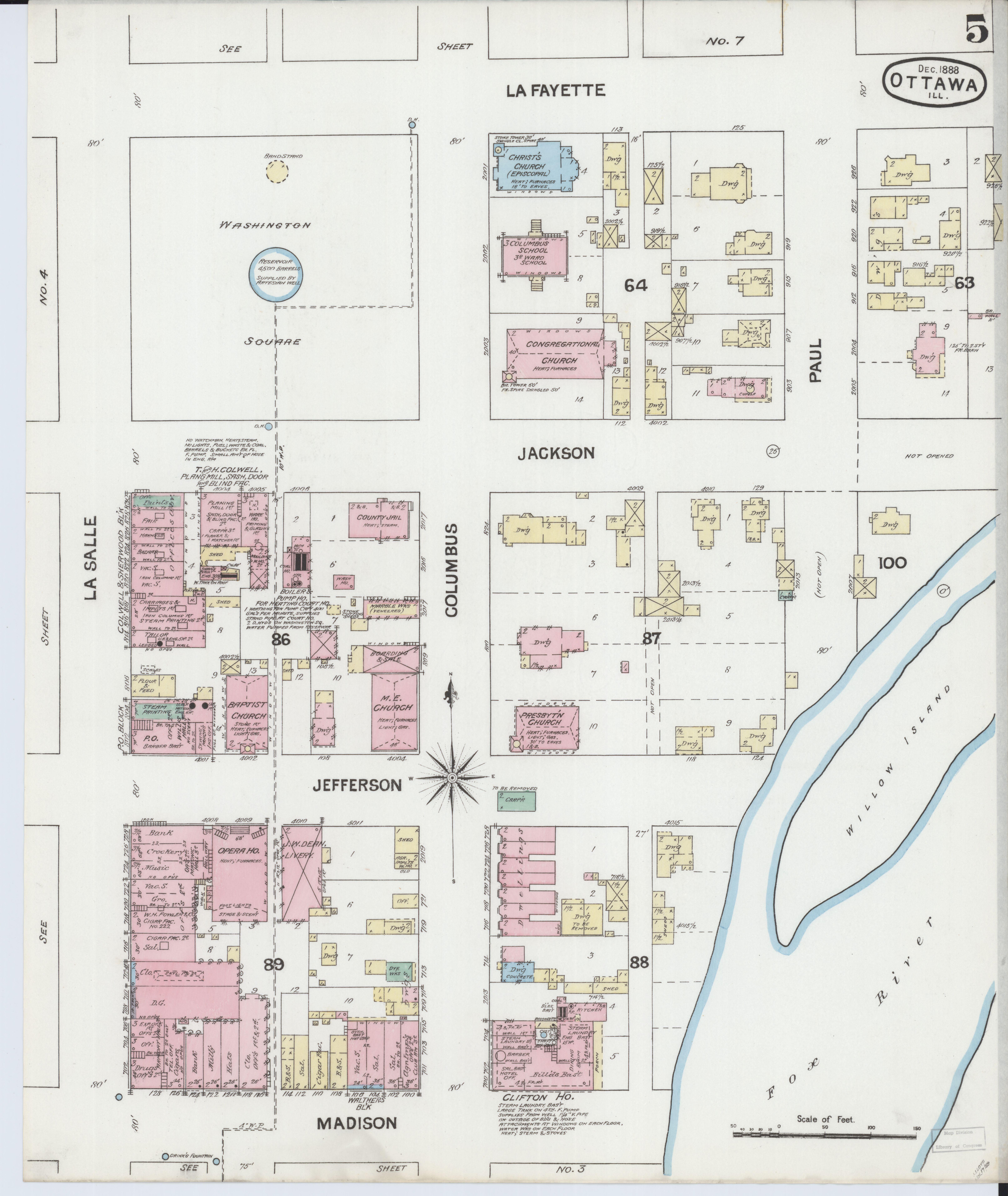 File Sanborn Fire Insurance Map From Ottawa La Salle County