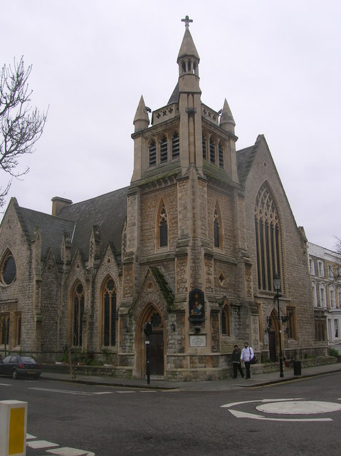 St Mark's Coptic Church, Allen Street, London W8 - geograph.org.uk - 667546.jpg