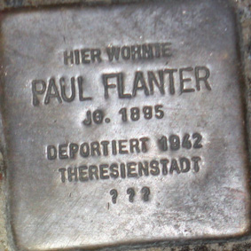 File:Stolperstein-Paul-Flanter.jpg