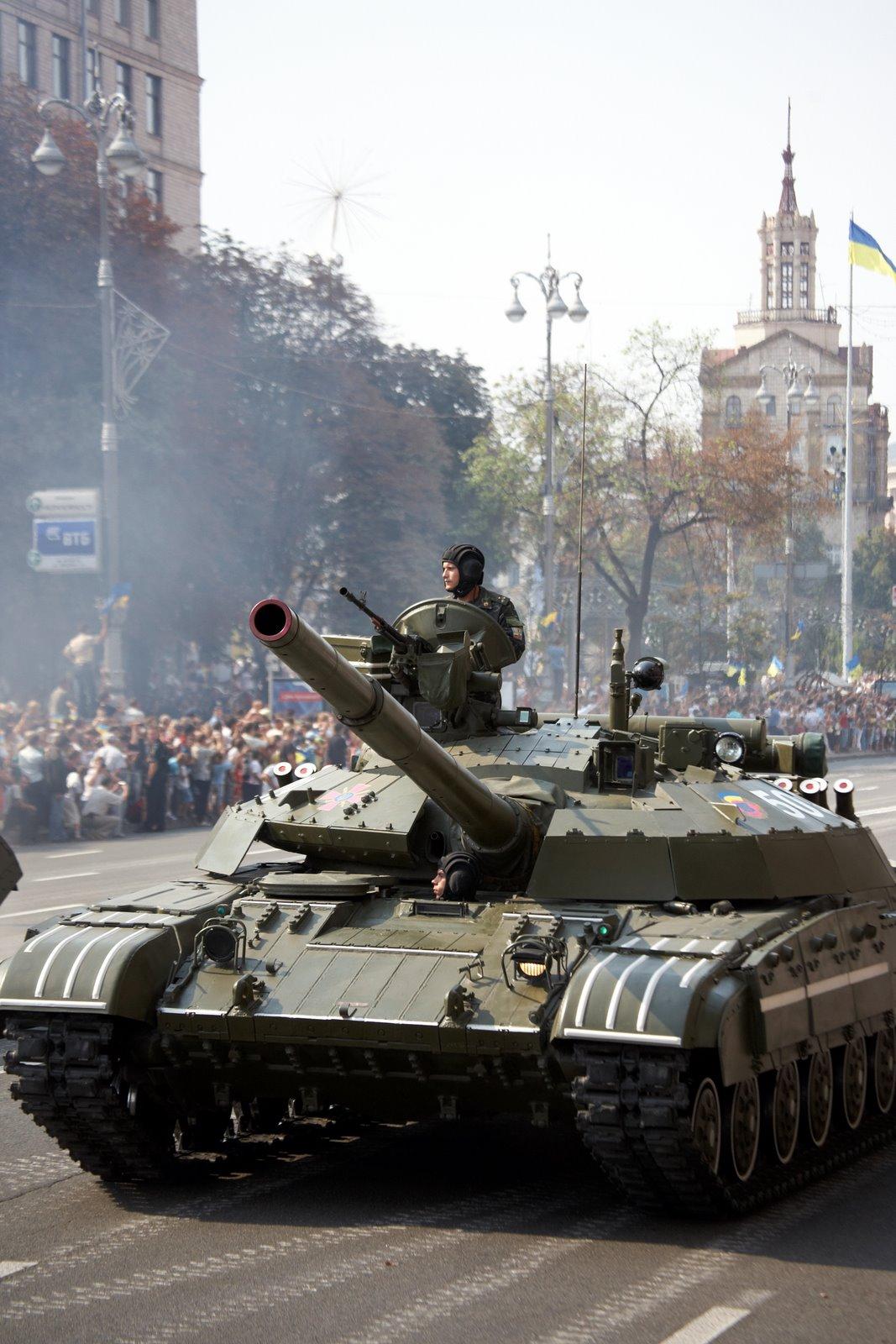 Description t-64 tanks of the ukrainian army