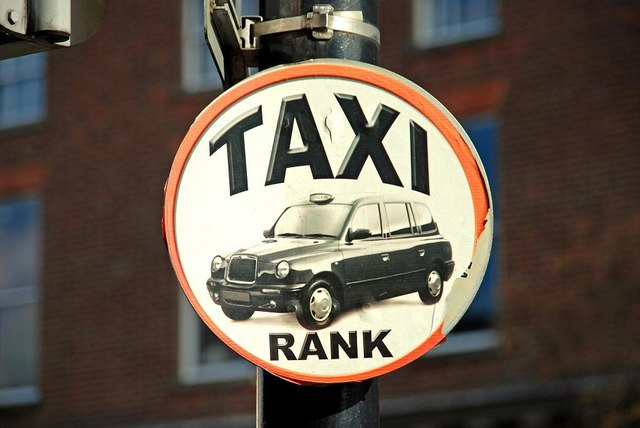 Taxi_rank_sign_belfast_ _geograph Org Uk_ _