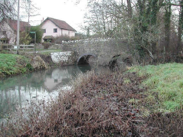 The Congresbury Yeo flows through the hamlet of Iwood - geograph.org.uk - 99214