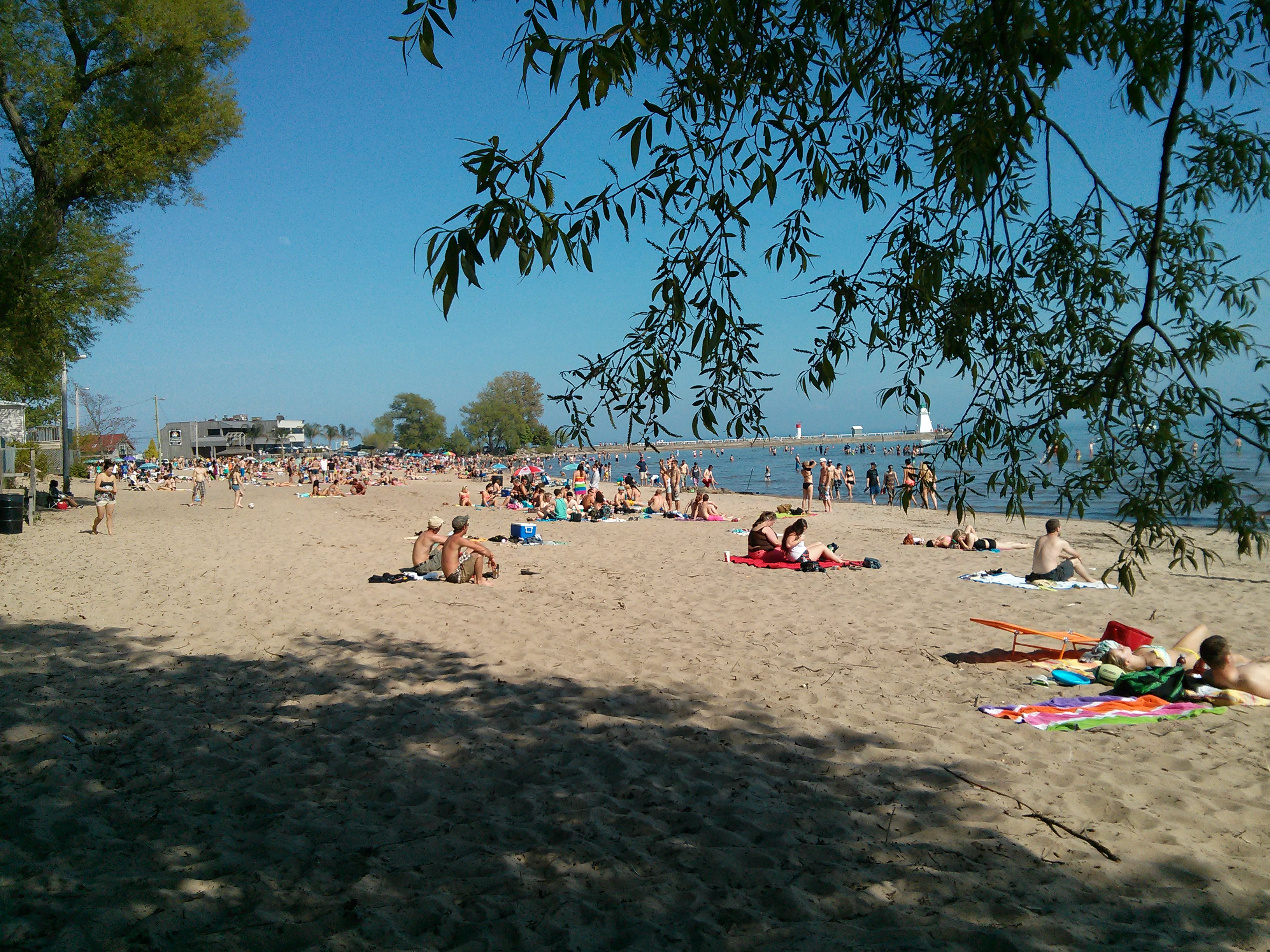 File The Beach In Port Dover On Canada During Victoria Day