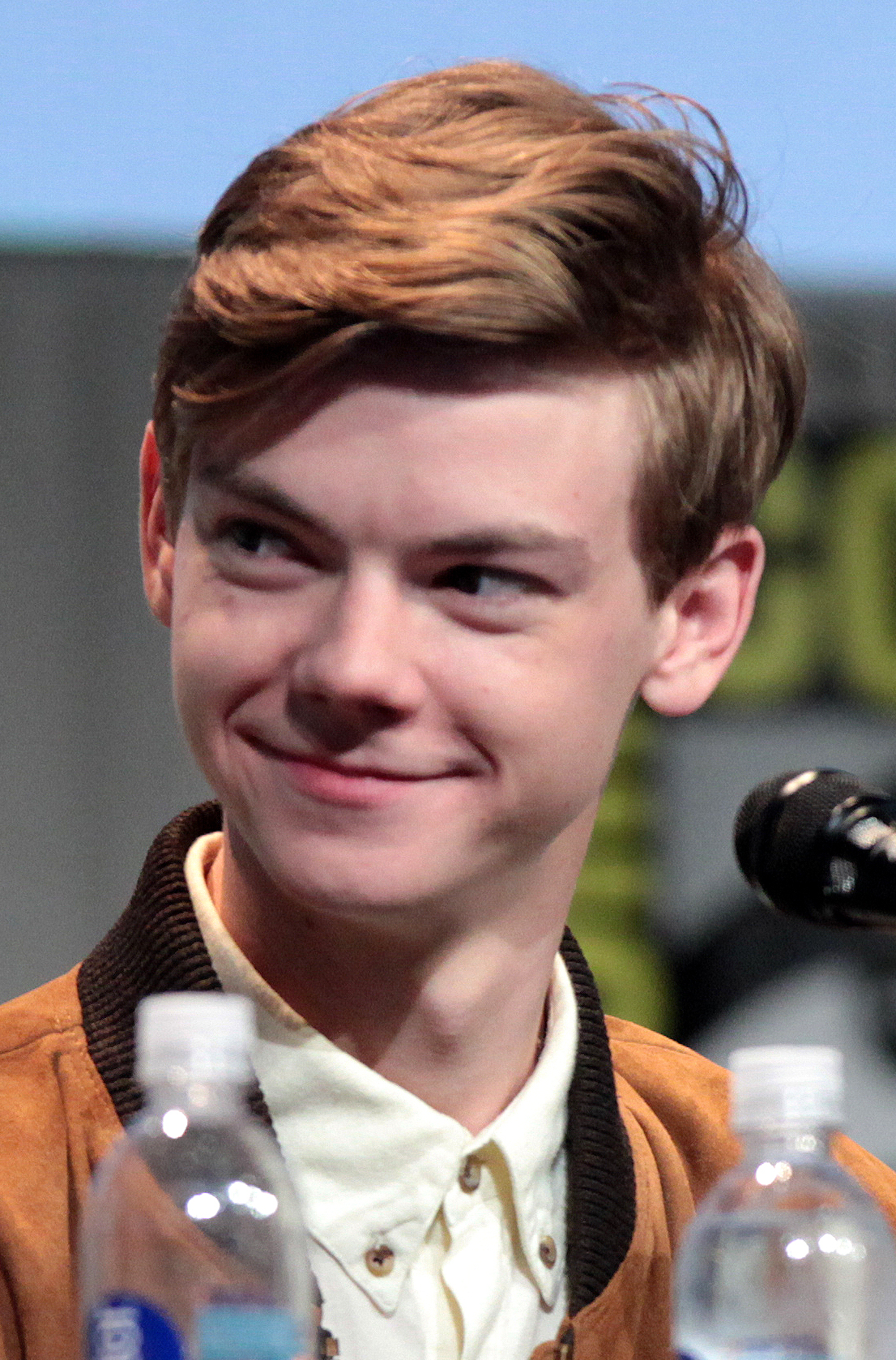 The 28-year old son of father Mark Sangster and mother Tasha Sangster Thomas Sangster in 2018 photo. Thomas Sangster earned a  million dollar salary - leaving the net worth at 1.5 million in 2018