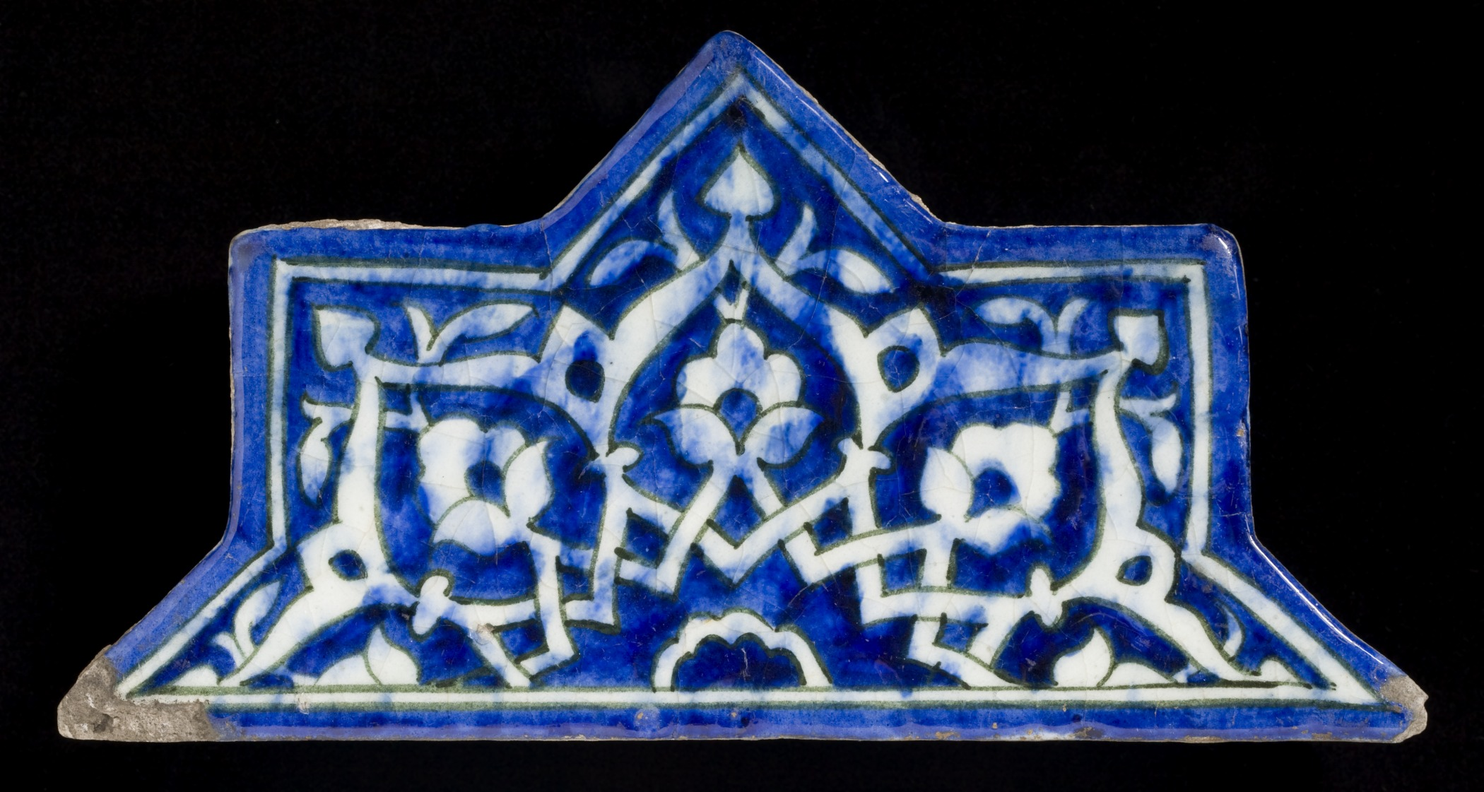 The most beautiful mosques to visit: Fritware, underglaze-painted, ca. 1444, Iran region
