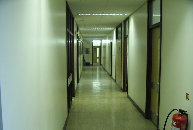how to say corridor in english