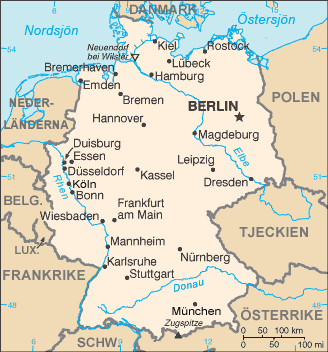 kart tyskland File:Tyskland kart sv.png   Wikimedia Commons