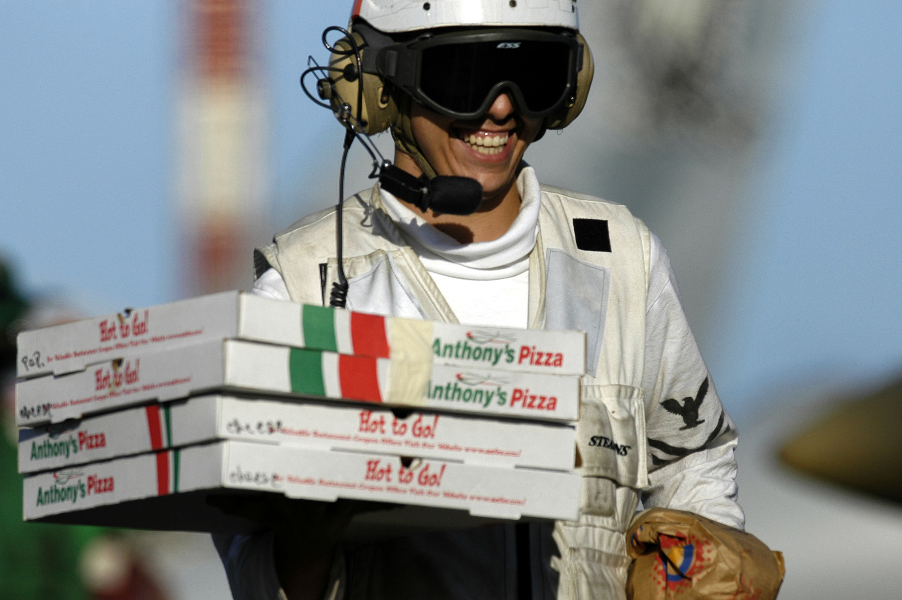 Image result for pizza deilvery man