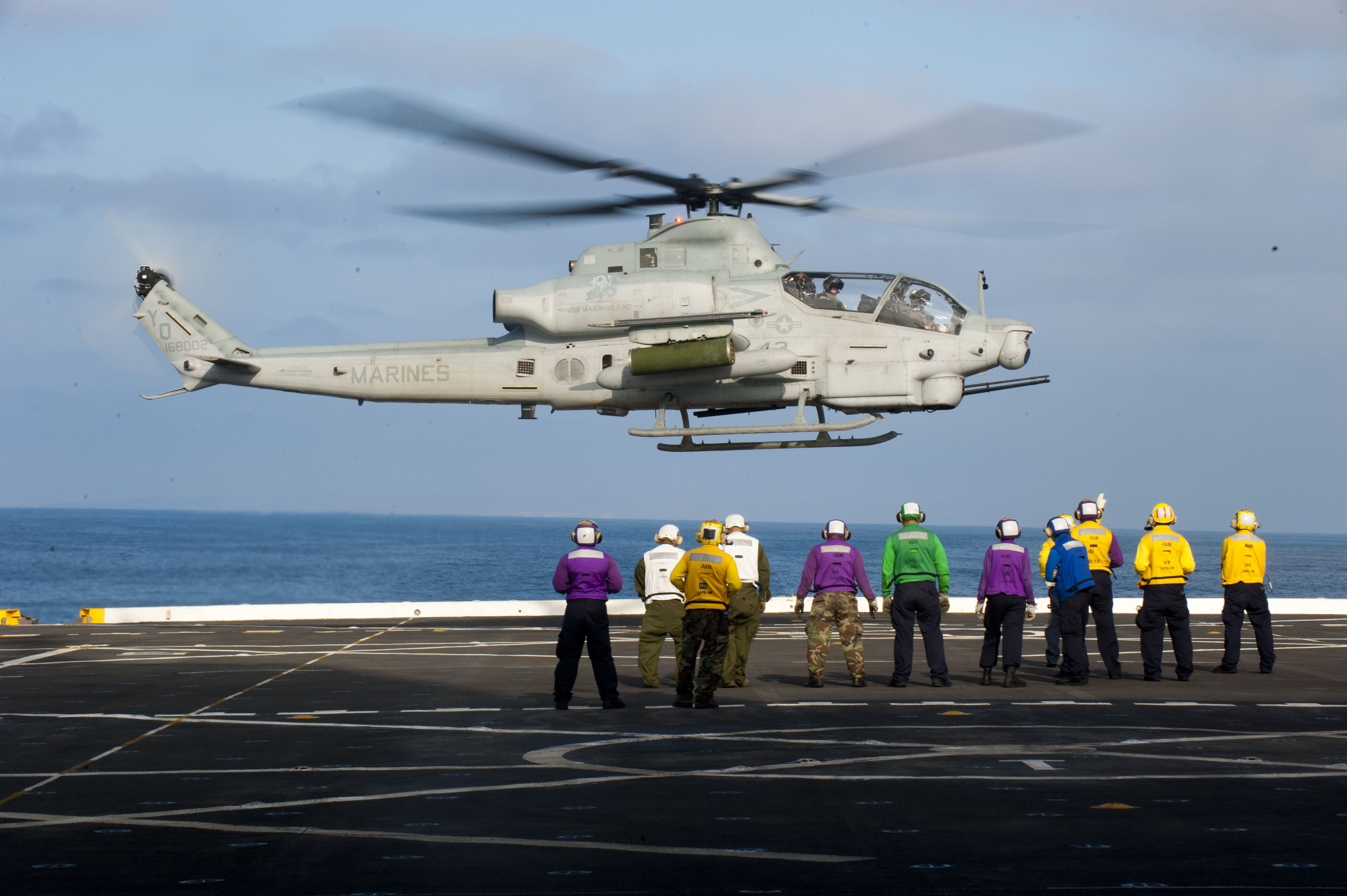 File:US Navy 110812-N-PB383-010 Sailors and Marines aboard ...