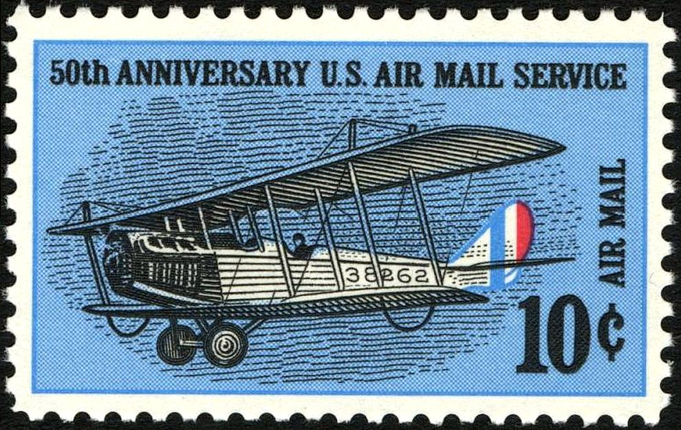 File Us Airmail Stamp C74 Jpg Wikimedia Commons