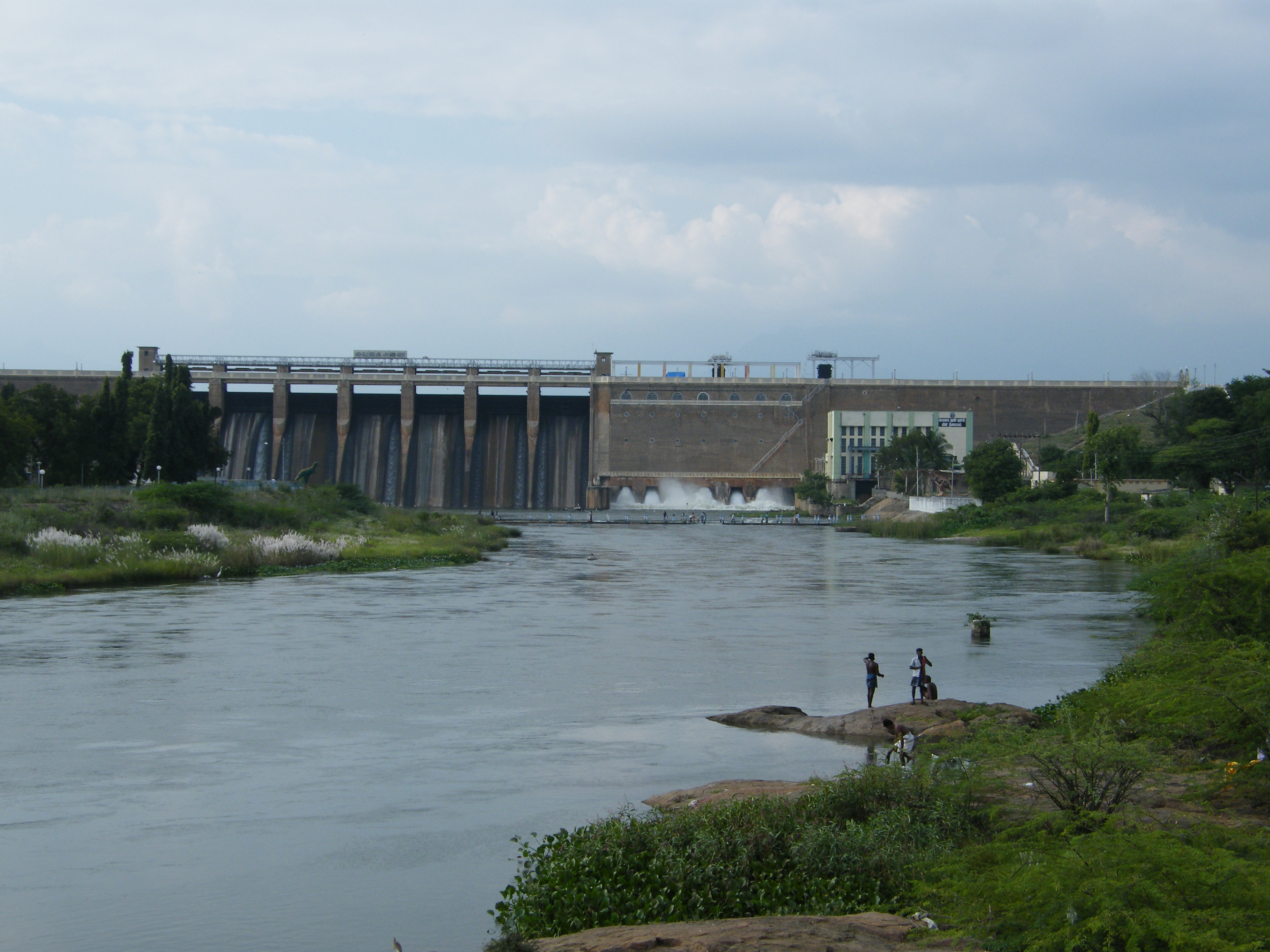 Theni India  city images : Vaigai Dam, Theni district, Tamil Nadu, India Wikimedia ...