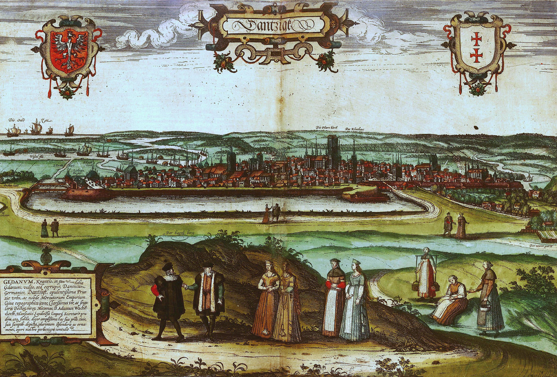 Pintura medieval de Gdansk ou Danzigue no século XVI
