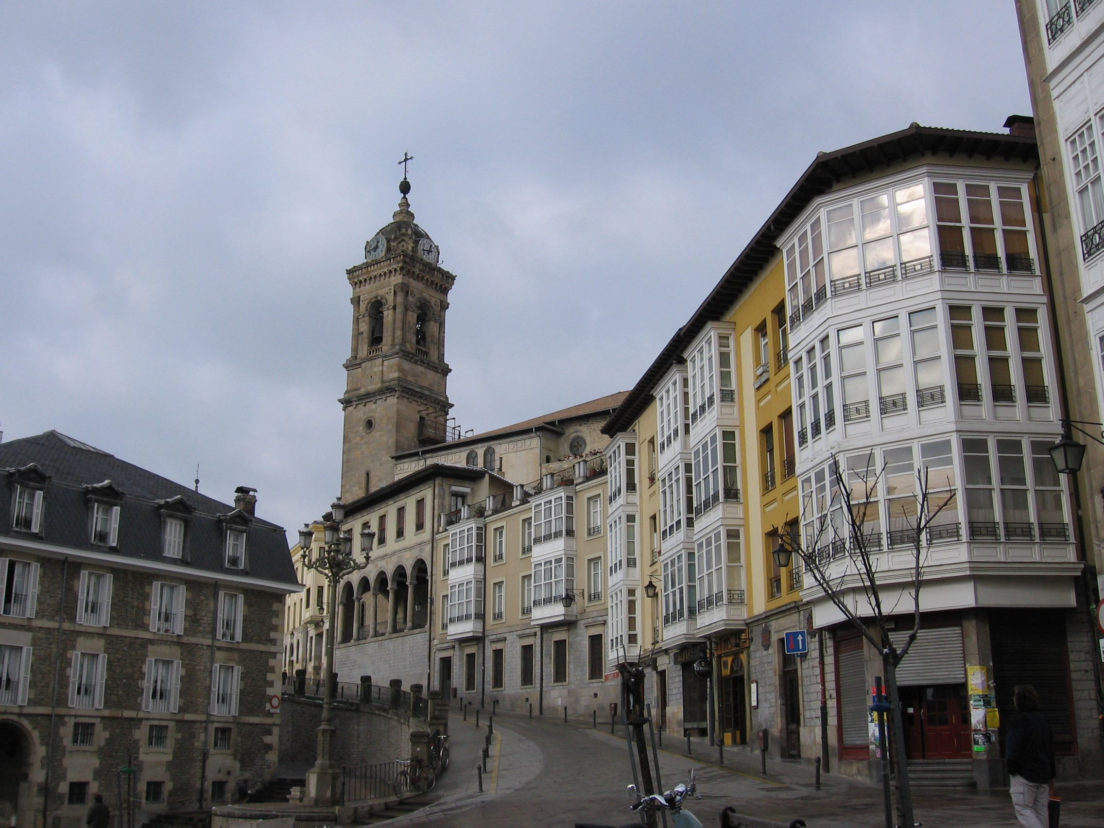 Vitoria File:Vitoria casco vie...