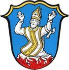 Den hellige Marinus i våpenet til Irschenberg