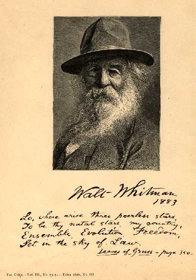 a biography of walt whitman a famous american poet This most famous of whitman's works was one of the original twelve pieces in the 1855 first edition of leaves of grass like most of the other poems, it too was revised extensively, reaching its final permutation in 1881 song of myself is a sprawling combination of biography, sermon, and.