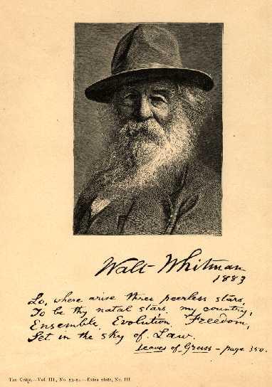 The Democracy Of Walt Whitman English Literature Essay