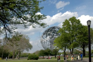 Unisphere From The 1964 World's Fair in NYC
