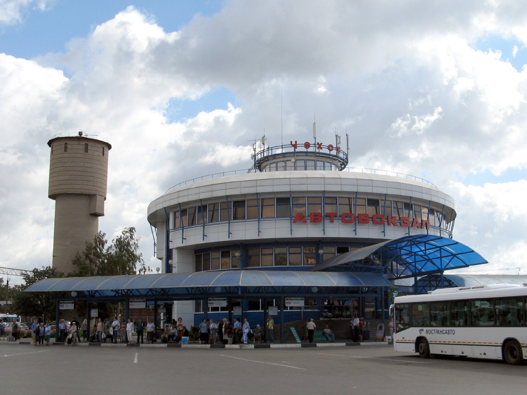 Автовокзал чехова