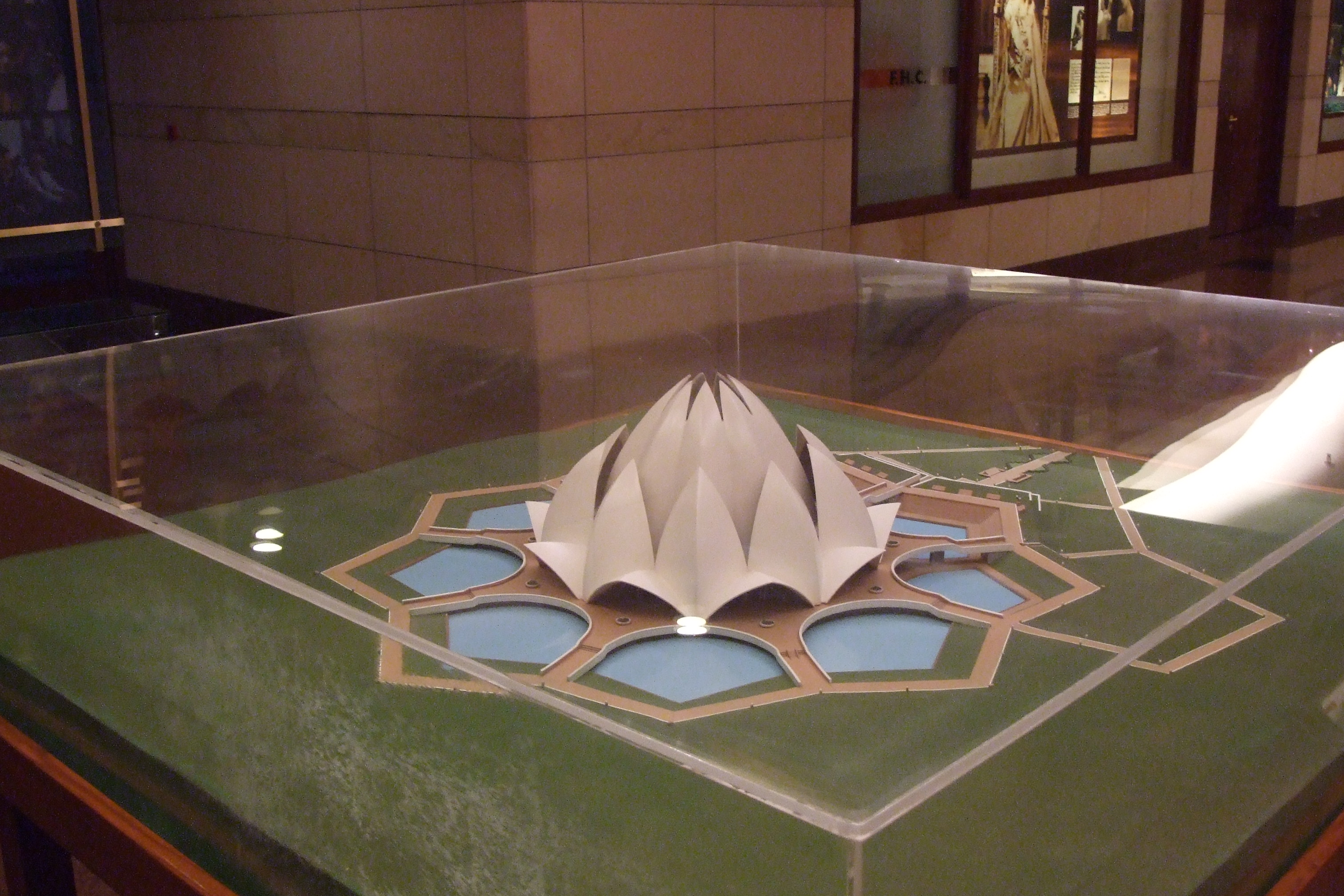 File 105 Lotus Temple Information Centre Jpg Wikimedia