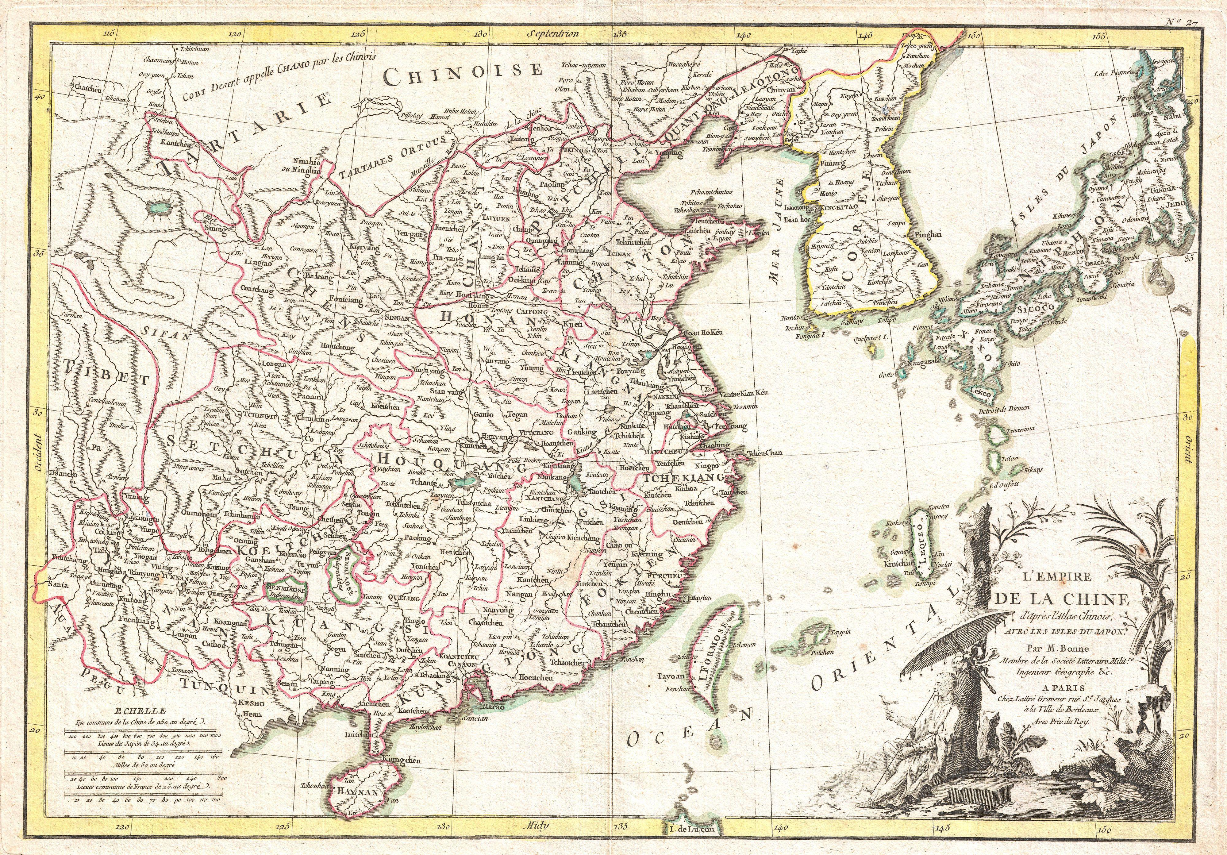 Taiwan map world atlas kalentri 2018 file1770 bonne map of china korea japan and formosa geographicus chinabonne1770jpg gumiabroncs Choice Image