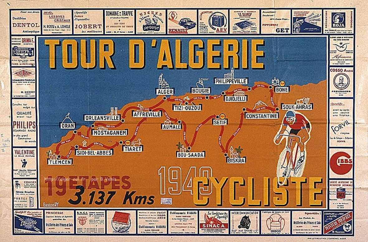 Tour d'Algérie 1949 — Wikipédia