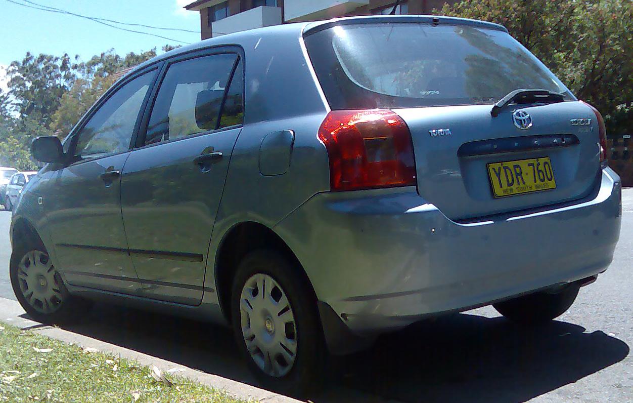 тоета королла хетчбек 2001 отзывы автомобилей: отпуск Кубе