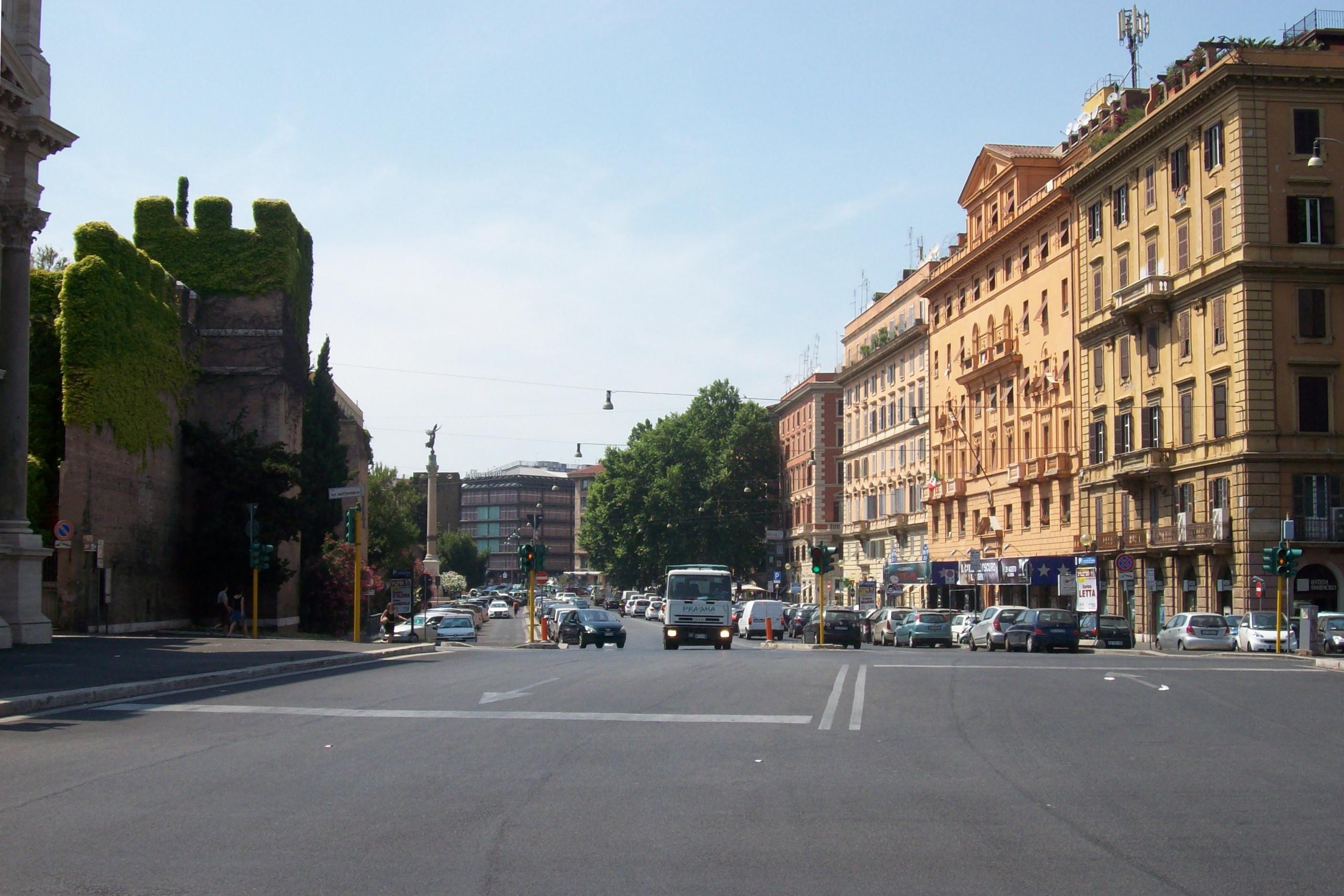 Corso d 39 italia roma wikiwand for Corso arredatore d interni milano