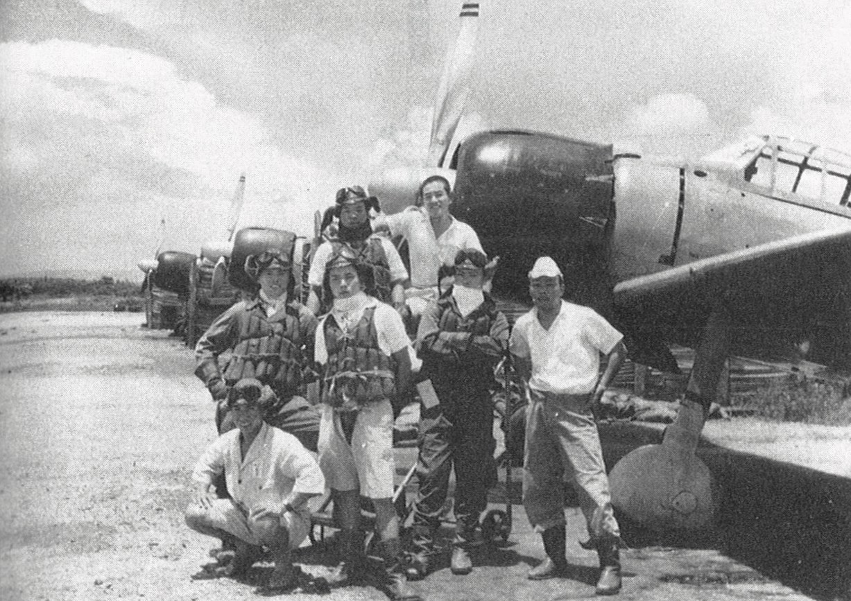File 202 Air Group Pilots At Kupang Jpg Wikimedia Commons