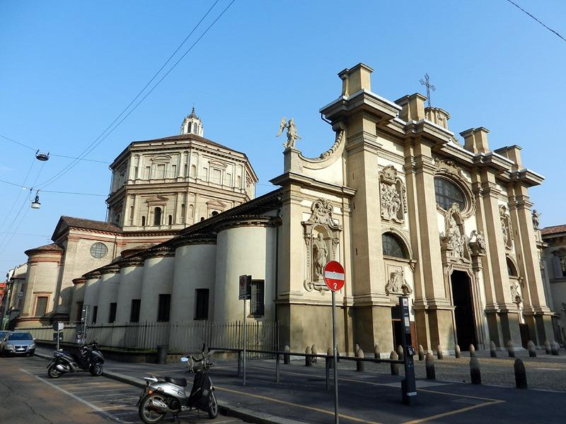 Церковь Санта Мария делла Пассионе Милан