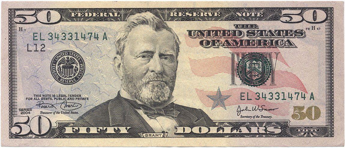 United States fifty-dollar bill - Wikipedia