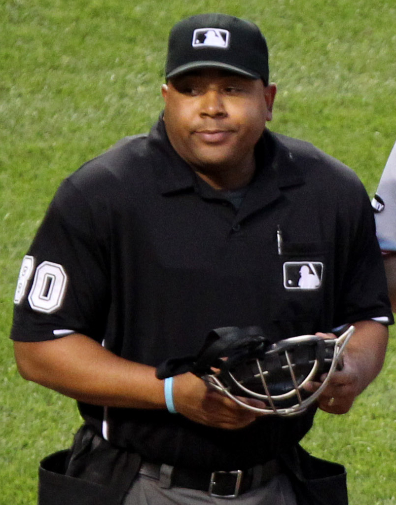 being an umpire Major league baseball umpires wore white wristbands during games saturday mlb umpires wear wristbands to protest 'abusive' treatment he was suspended three games by mlb for comments he made in a newspaper story about texas star adrian beltre being the biggest complainer in the game.