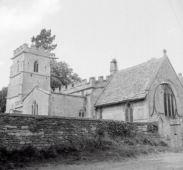 Ampney Crucis Holy Rood Church