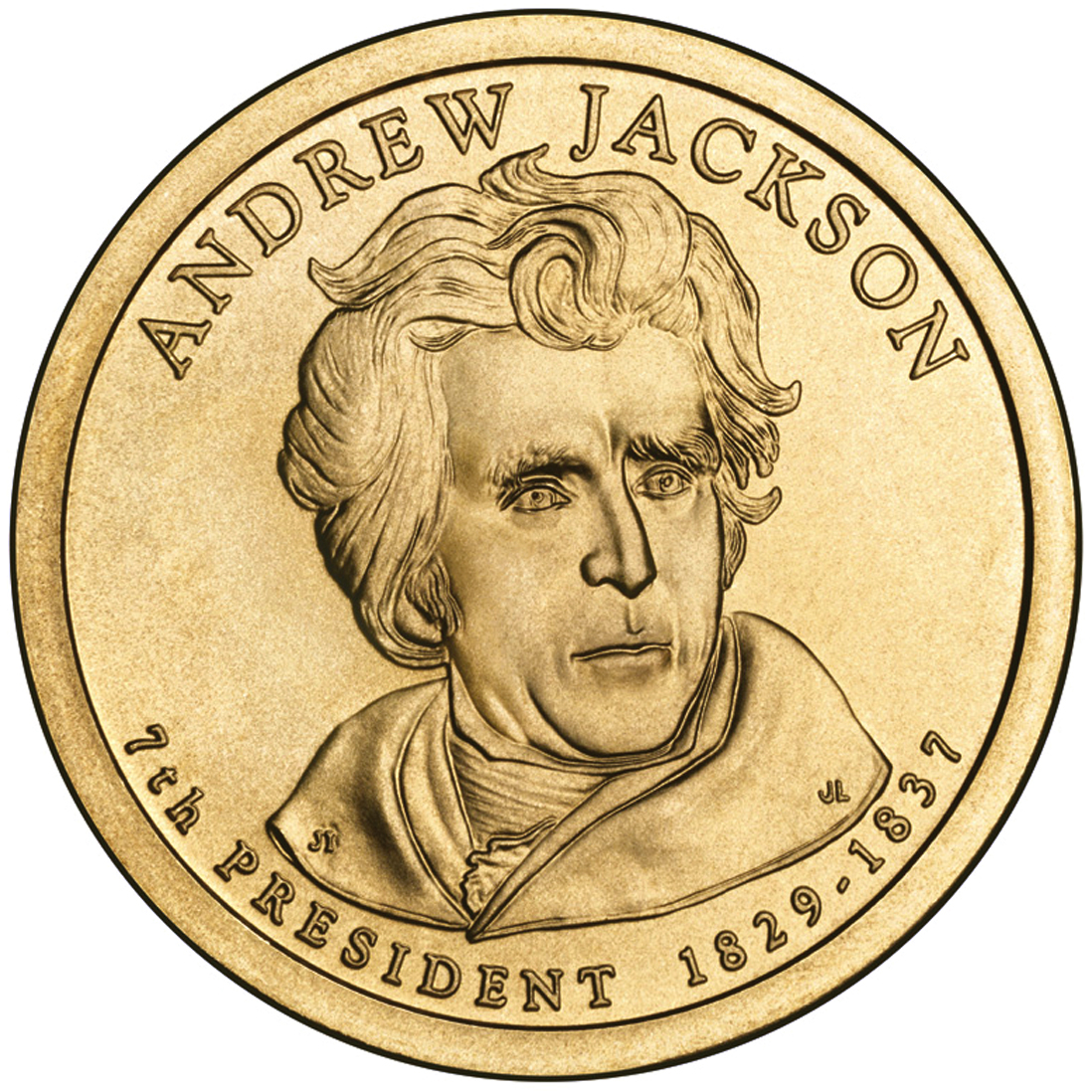 Kitchen cabinet us government - File Andrew Jackson Presidential 1 Coin Obverse Jpg